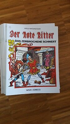 Der rote ritter nr. 1 wick Comics