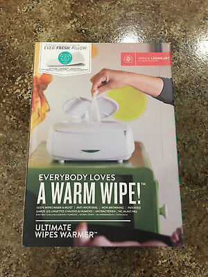 Prince Lionheart Ultimate Wipes Warmer with 1 Ever-Fresh Pillow Included