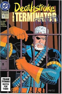 Deathstroke The Terminator Comic Book #12 DC Comics 1992 NEAR MINT NEW UNREAD
