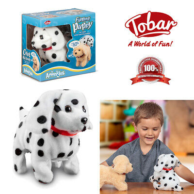 KIDS CHRISTMAS FLIPPING Puppy Toy Electronic Pet Dalmatian