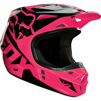 Fox - V1 Race Pink Helmet - X-Large