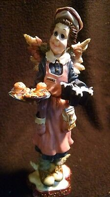"7""  Boyds Bears & Friends Ms. Fries Guardian Angel Of Waitresses Folkstone"