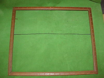 """Antique arts & crafts Skinny Wood frame  18 x 15 holds 17 x 14"""" 1900s-1930s"""