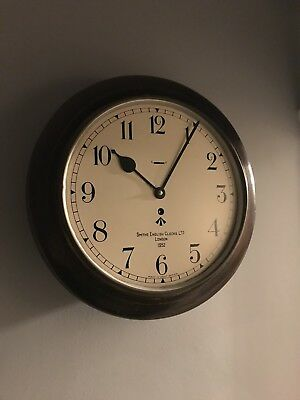 smiths military wall clock 1952