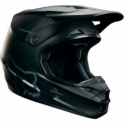 Fox - V1 Matte Black Helmet - 2X-Large