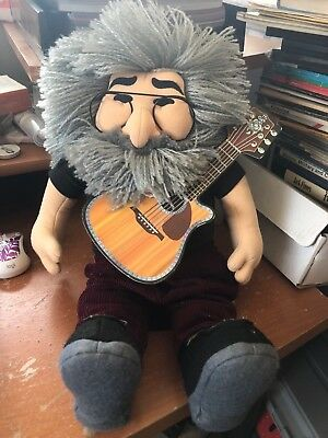"Gund Liquid Blue The Grateful Dead Jerry Garcia Stuffed Plush Toy Doll 18"" 1998"