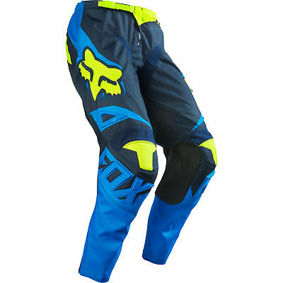 Fox - 180 Race Blue/Yellow Pants - 34