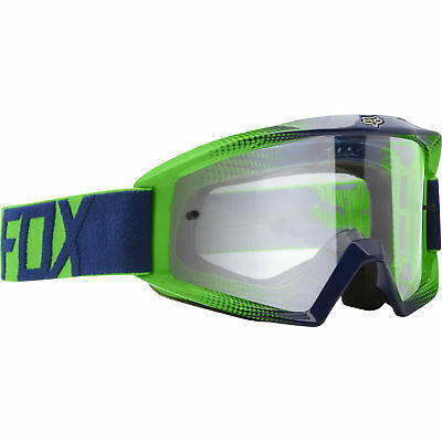 Fox - Main Race 2 Goggle - Navy/Green