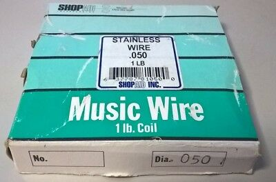 050 Shopaid Stainless Music Wire 1 Lb