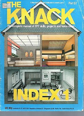 The Knack - part 97 - Index 1 (Index only) Marshall Cavendish Publication