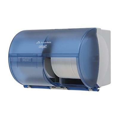 Georgia Pacific 56783 Compact Side-By-Side Two Roll Bathroom Tissue Dispenser