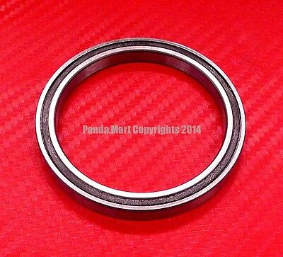5pcs 6710-2RS (50x62x6 mm) Black Rubber Sealed Ball Bearing Bearings 6710RS