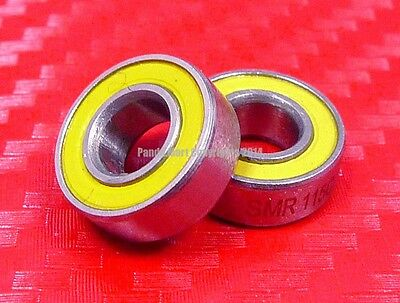 [QTY 5] S699-2RS (9x20x6 mm) CERAMIC 440c S.Steel Ball Bearing 699RS ABEC-5