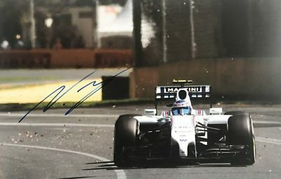 Signed Valtteri Bottas Photo - 100% Genuine Formula 1 Autograph  + *Certificate*