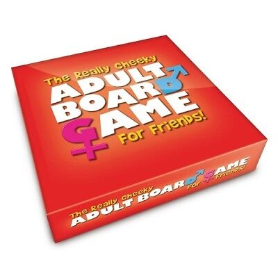 The Really Cheeky Adult Board Game For Friends - Dinner Party Fun