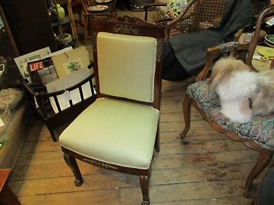 Vintage French Empire Style Side Chair
