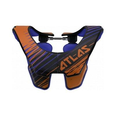 Atlas - Air Orange Tornado Neck Brace - Large