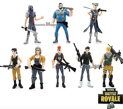 FORTNITE BATTLE ROYALE Tutti i Personaggi 2 collezioni Epic Games Action  Figures 5680f80b780f