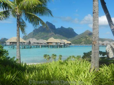 Four Seasons Bora Bora Overwater Bungalow Vacation Package for 2