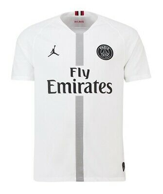 Paris Saint Germain (PSG) Third White Shirt 2018/19