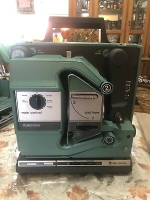 Bell&Howell model 1580 Film Sound 16 mm Projector Tested Working w/3 Extra Bulbs