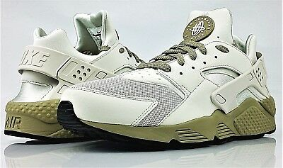 New Nike Air Huarache Men's Shoes Light Bone Neutral Olive 318429 050