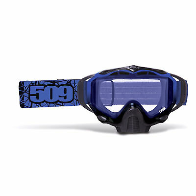 509 - Sinister X5 Blue Adult Tinted Lens Goggles - Blue