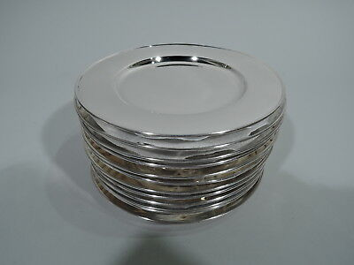 Tiffany Plates - 14321 - Antique Bread & Butter - American Sterling Silver
