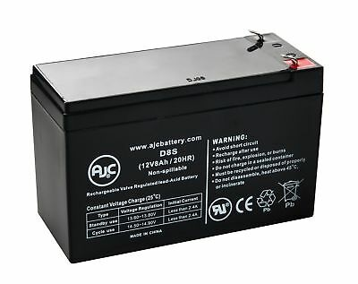 Enduring 6-FM-7 12V 8Ah Scooter Battery - This is an AJC Brand® Replacement