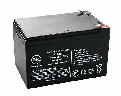 Yuasa REC14-12 12V 14Ah Scooter Battery - This is an AJC Brand Replacement
