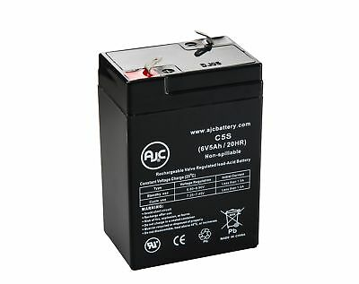 Leoch LP6-4.0 6V 5Ah Sealed Lead Acid Battery - This is an AJC Brand Replacement
