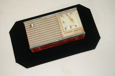 Vintage Channel Master Portable 6Tr Transistor Radio 6506 As-Is