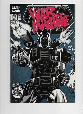 IRON MAN 282 First Appearance WAR MACHINE Very Nice Copy!  See scans.
