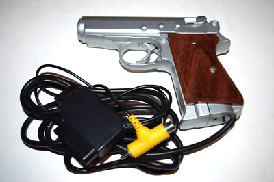 Panther Light Gun Controller for Sega Saturn Playstation PS1 Console Game System