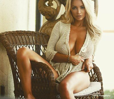 Lindsey Pelas Sitting On The Couch 8x10 Photo Print