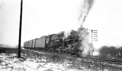 Nickel Plate Road (NYC&StL RR), steam locomotive, train Orig 616 B&W negative