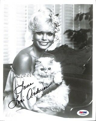 Loni Anderson PSA/DNA Autographed Signed 8 X 10 Photo Certified Actress