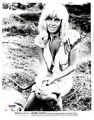 Joy Harmon PSA/DNA Autographed Signed 8 X 10 Photo Certified Actress