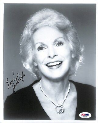 Janet Leigh PSA/DNA Autographed Signed 8 X 10 Photo Certified Actress