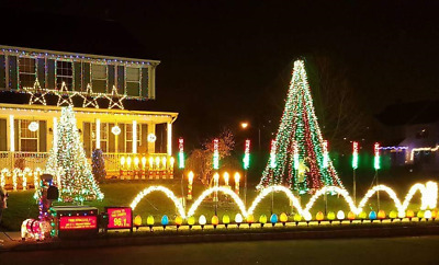 18 Light O Rama Christmas Light Display Sequences 120 Channels - Multiple Songs