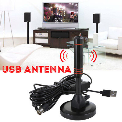 Antenna 1080P Digital HD TV 200 Mile Range Skywire Indoor 4K 16ft Coax Cable