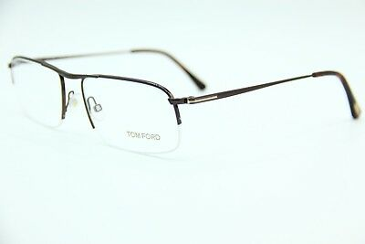 d27af9a7634b New Tom Ford Tf5211 048 Brown Authentic Eyeglasses Tf 5211 Frame Rx 55-17 W