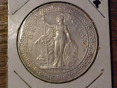 1930 Great Britain SIlver Trade Dollar XF Details *99c No Reserve*