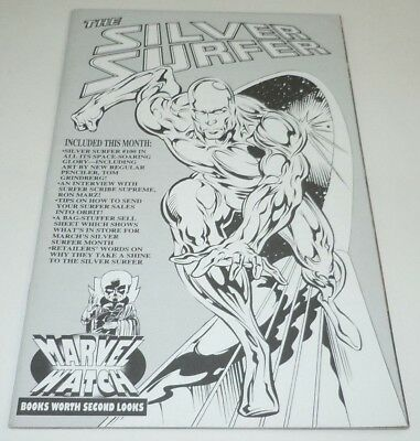 Silver Surfer #100 Comic Marvel Watch VARIANT 1st Print First Thanos Galactus