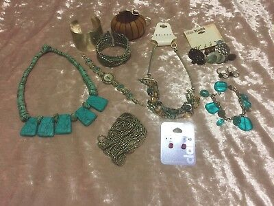 Costume Jewelry Junk Drawer Clean Out Necklaces Earrings Bracelets Rings Watch