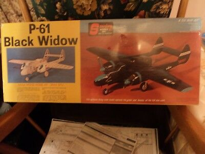 Sterling balsa model kit #E 15 p61 black widow