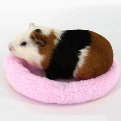 Hamster House Mat Animal Bed Washable Winter Warm Soft Guinea Pig Accessories