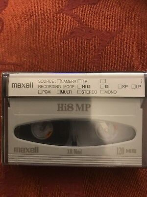 Maxell XR Metal Hi8 8mm Blank Professional Quality Video Tape 120 for Camcorder