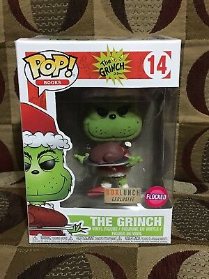 2017 Funko POP Box Lunch Exclusive Flocked The Grinch #14