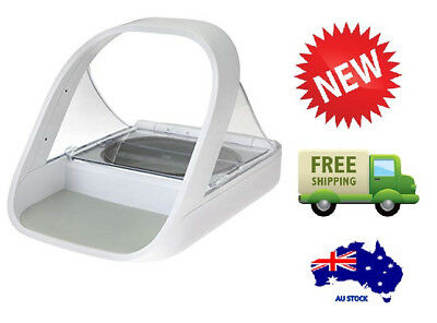 Sureflap SureFeed Microchip Automatic Pet Feeder - Sealed Bowl Dogs & Cats x2